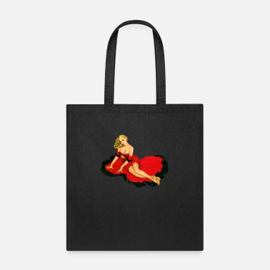 Pinup 1940's Pinup Girl Sexy Classic Vintage Retro - Tote Bag