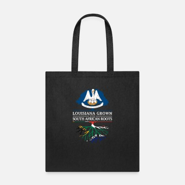 Heritage Louisiana Grown with South African Roots - Tote Bag