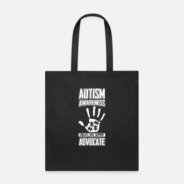 Aspergers Autism Awareness Educate Love Support Advocate - Tote Bag