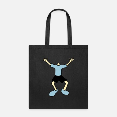 Body waving body head disguise funny cartoon cartoon cl - Tote Bag