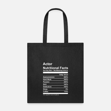 Actor Actor Nutritional Facts - Tote Bag