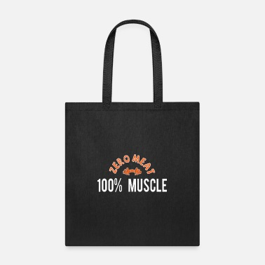Muscle Meat Vegetarian Muscle zero Meat 100% muscle - Tote Bag