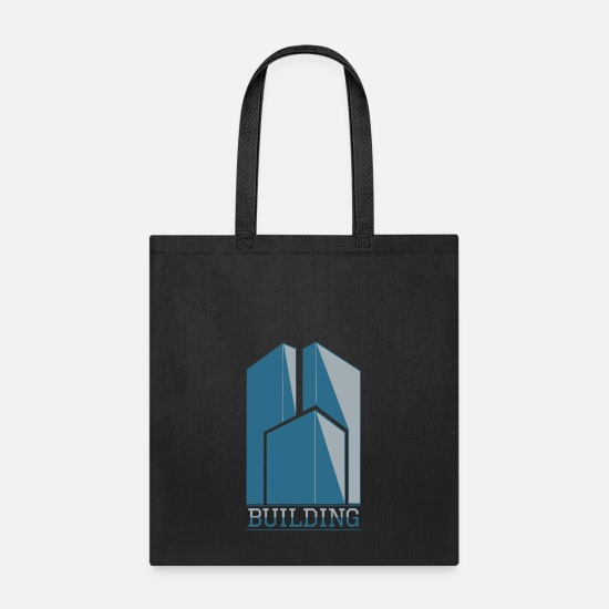 Building Site Bags & Backpacks - Building - Tote Bag black
