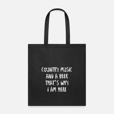 Country COUNTRY MUSIC BEER - USA - CONCERT - Tote Bag