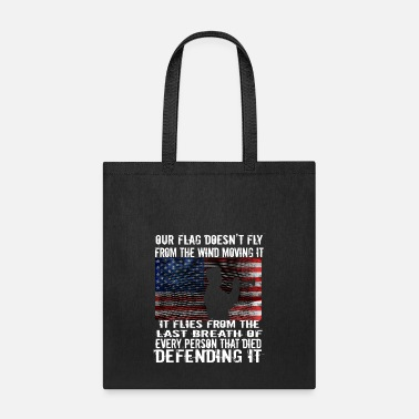 Patriot Patriotic Military Flag Bugler Veteran - Tote Bag
