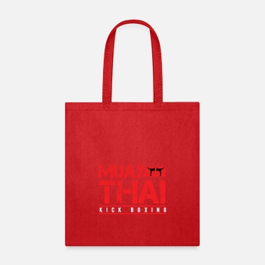 Kick Muay Thai Kick Boxing - Tote Bag