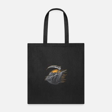 Grimm Dabbing Grimm Reaper Halloween Dab Funny - Tote Bag