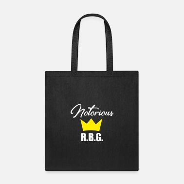 R.b.g Notorious R.B.G. Ruth Bader Ginsburg With Crown - Tote Bag