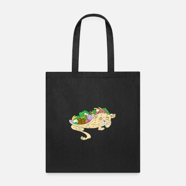 Tuesday SLEEP CAT TACOS FUNNY BIRTHDAY GIFT LOVERS PARTY - Tote Bag