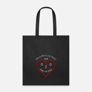 Flirting Flirting Heart - Tote Bag
