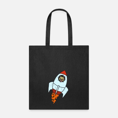 Dog Rocket Astronaut Space Paw Pet - Tote Bag