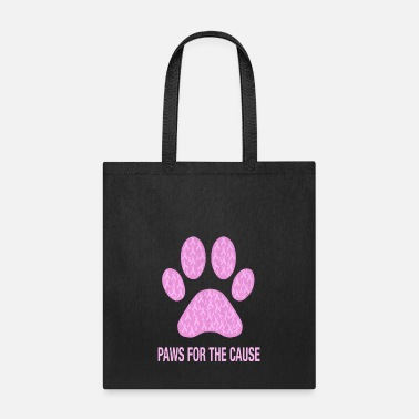 Cause Paws For The Cause Breast Cancer Awareness - Tote Bag