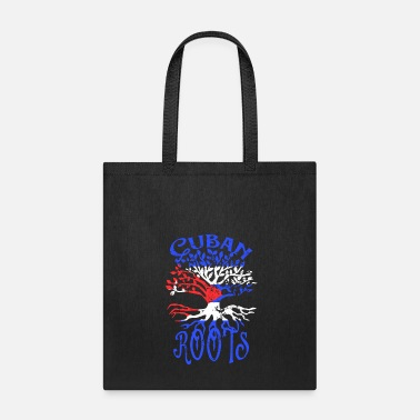 Cuban Roots Design Cuban Roots Cuba Flag Family Tree Heritage Ancestry - Tote Bag