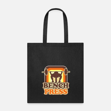 Power Press Bench Press - Tote Bag