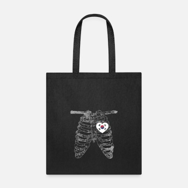 Person Heart Belongs to South Korea Nationality - Tote Bag