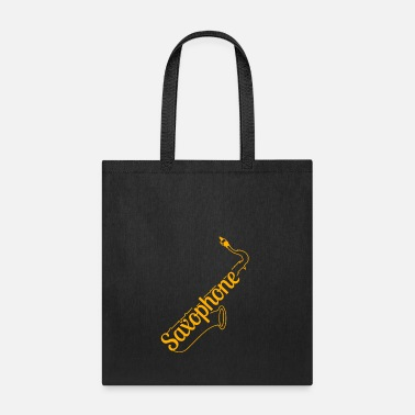 Instrument Saxophone Musical Instrument - Tote Bag