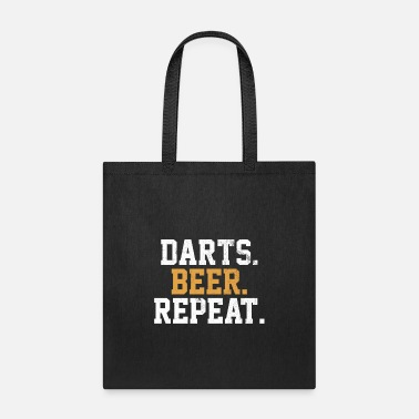 Bar Dart Beer Bar Pub Vintage Arrow - Tote Bag