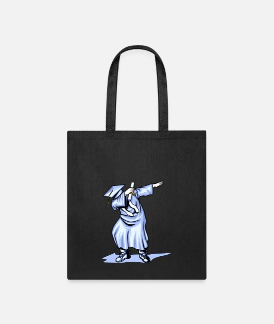 High Bags & Backpacks - The Dabbing Graduation Class of Funny Gifts - Tote Bag black