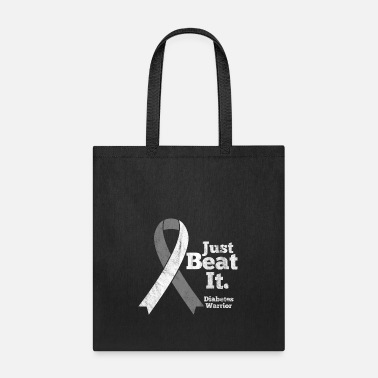 Cure Shirt for diabetes awareness day - just beat it - Tote Bag