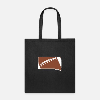 Football South Dakota Fun Football Lover Gift - Tote Bag