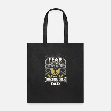 Officer Correctional Officer Dad - Tote Bag