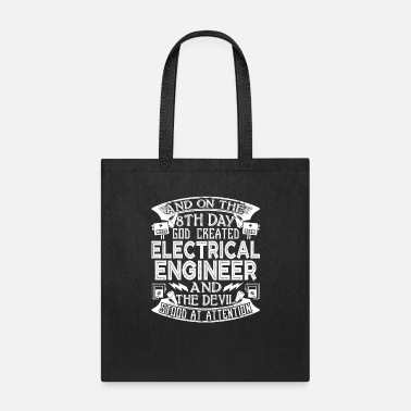 Electrical God Created Electrical Engineer - Tote Bag