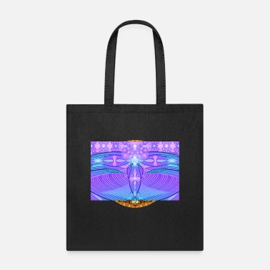 Meditating Deep Dream Visions - Tote Bag