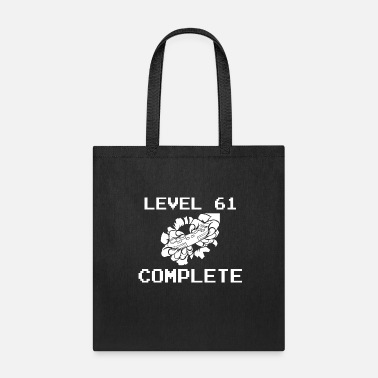 61. Birthday Level 61 Complete 61 Birthday Gamer Gaming - Tote Bag