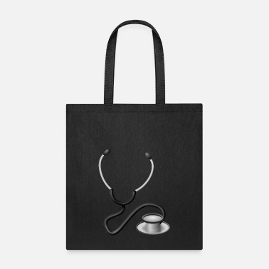 Stethoscope arzt doktor doctor erste hilfe first aid kit anato - Tote Bag