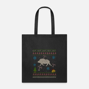 Wild Boar Wild Hog Hunting Christmas Ugly Sweater Wild Pig Boar - Tote Bag