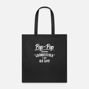 Reveal Fathers Day Pop-pop Gif Pregnancy Announcement Pop - Tote Bag