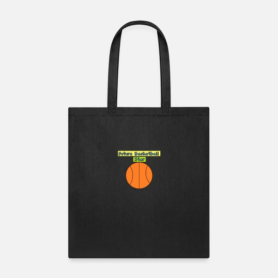Basketball Bags & Backpacks - Future Basketball Star Maternity Baby - Tote Bag black