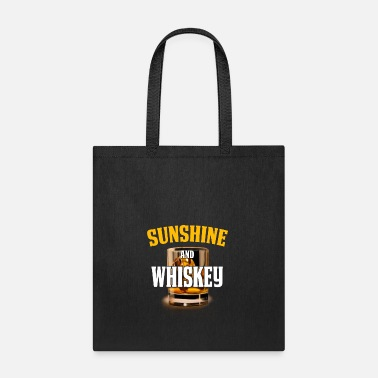 Whiskey Funny Whiskey Design Sunshine and Whiskey - Tote Bag