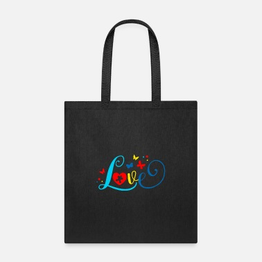 Embrace Autism Autism Awareness Love Puzzle Autism Mom - Tote Bag