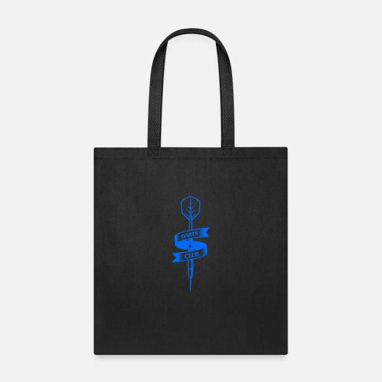 Celtic Knot Bags & Backpacks - Dart Club Arrow - Tote Bag black