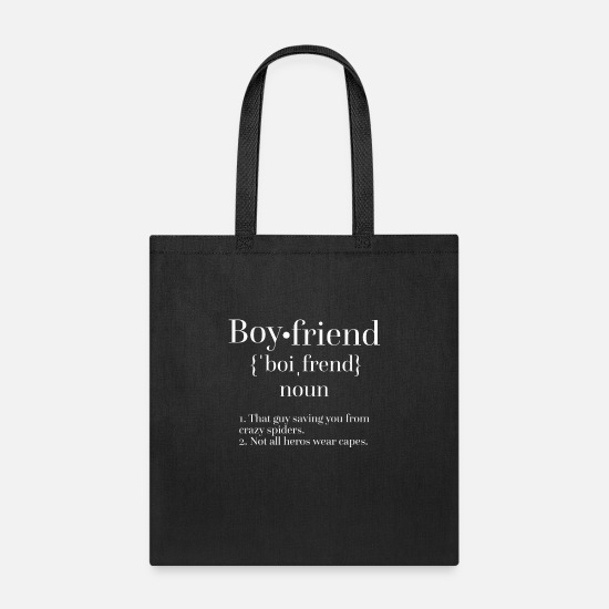 Boyfriend Bags & Backpacks - Boyfriend - Tote Bag black