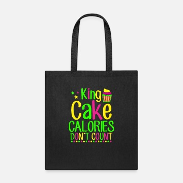 Mardi Gras King Cake TShirt New Orleans Party Gif - Tote Bag