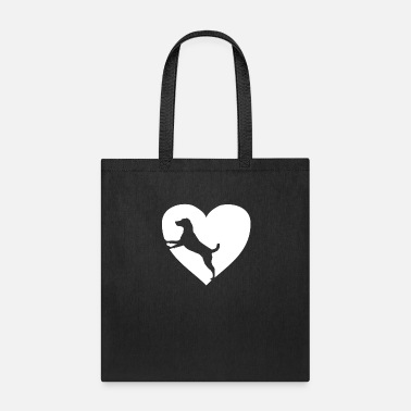 Dog Lover Dog in Heart for Dog lovers - Tote Bag