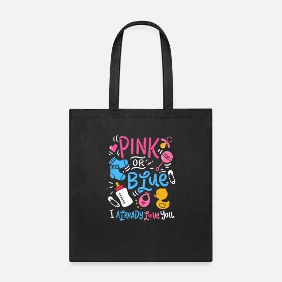 Baby Bags & Backpacks - Gender Reveal - Tote Bag black