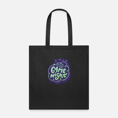 Game Game Night - Board Game Video Gaming - Tote Bag