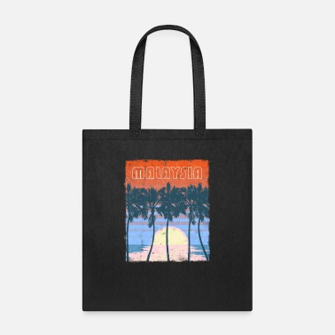 Weather Malaysia Beach Family Vacation Keepsake - Tote Bag
