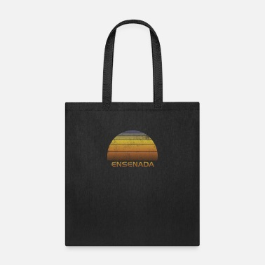 Old School Vintage Sunset Ensenada Mexico Family Vacation - Tote Bag