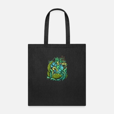 Mythology Poseidon - King Of The Sea Greek Mythology Ocean - Tote Bag