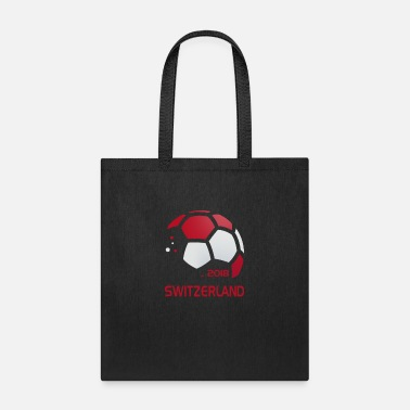 National Team Switzerland National Soccer Team Fan Gear - Tote Bag