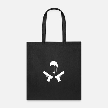 Raider Fighter - Gun - Grave robber- archeology - Tote Bag