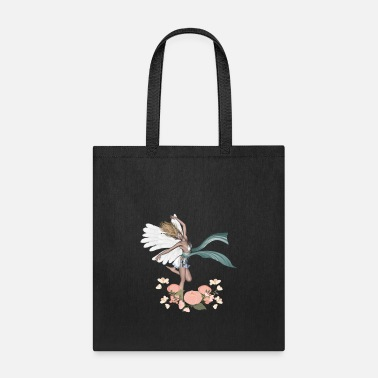 Fairy Wonderful fairy with flowers - Tote Bag