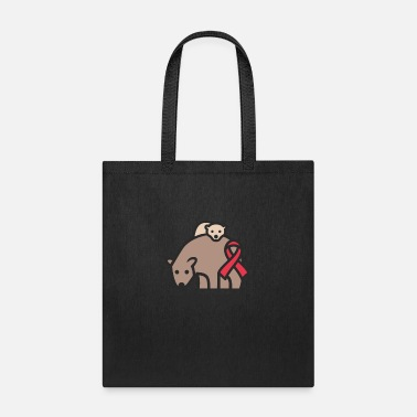 Brain Mama - Brain Aneurysm Awareness Gift - Tote Bag