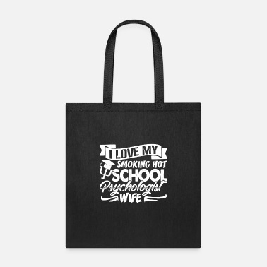 School Love School Psychologist Shirt - Tote Bag