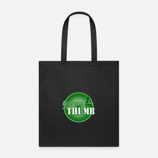 Greenman Bags & Backpacks - Green Thumb - Tote Bag black