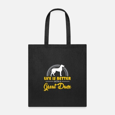 Puppy Great Dane Dog Gift - Pet Owner Animal Love - Tote Bag